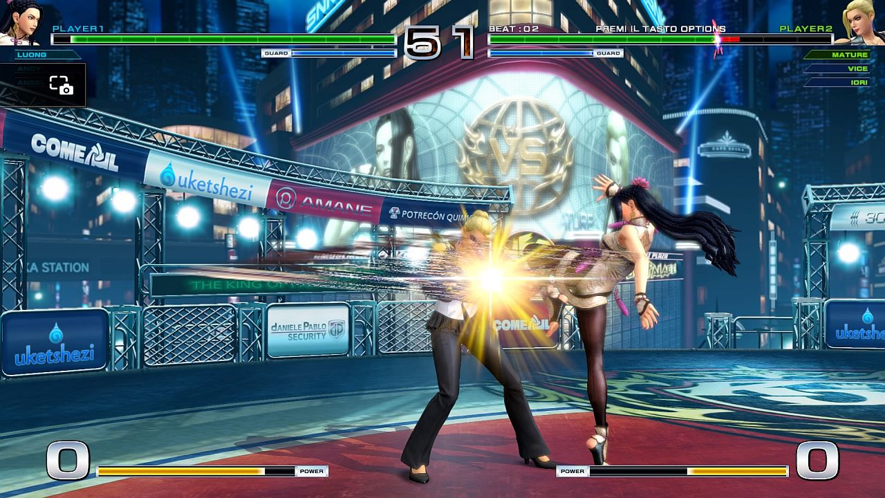 The King of Fighters XIV immagine PS4 04