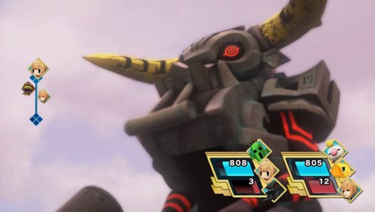 World of Final Fantasy: Minotaur, Sea Snake, e altri in azione