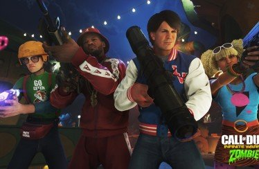 Zombies in Spaceland trailer call of duty infinite warfare