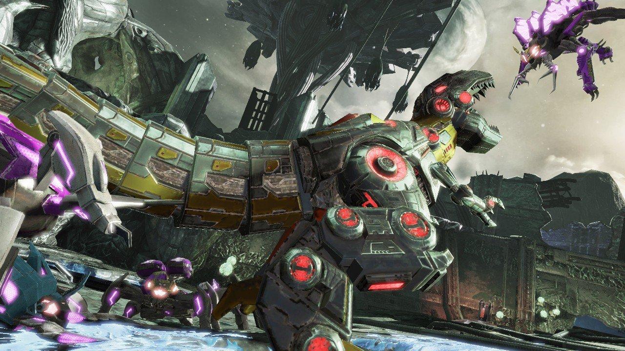 Transformers Fall of Cybertron uscirà su PS4 e Xbox One domani