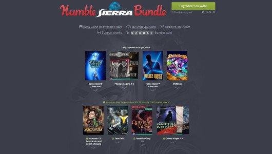 Humbe Bundle lancia una nuova promozione dedicata a Sierra