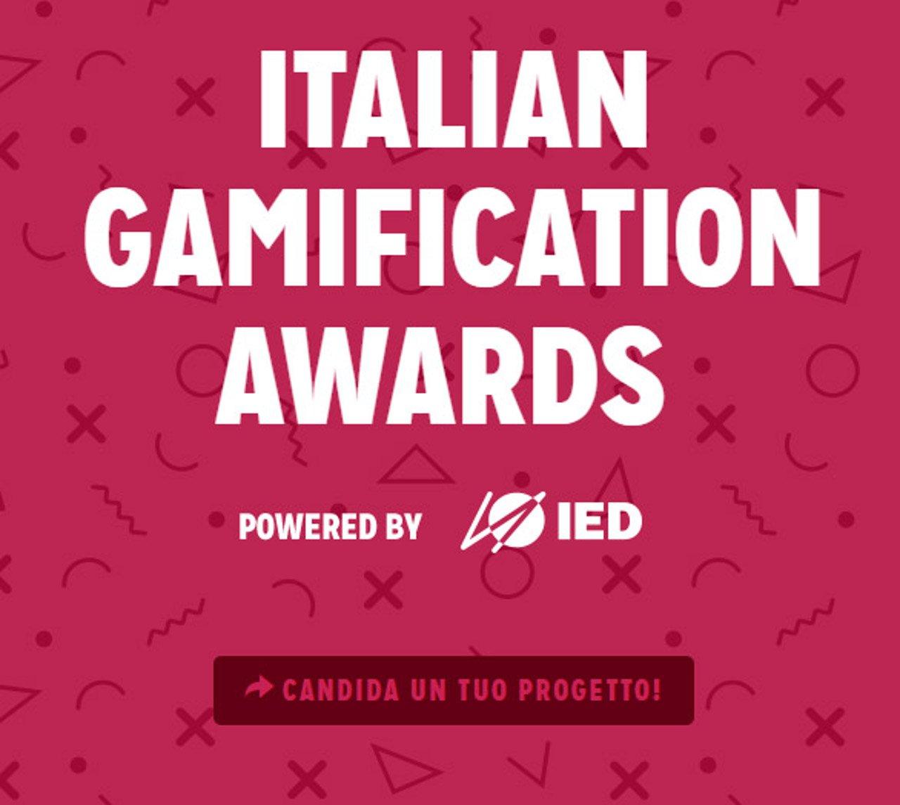 IED Milano annuncia gli Italian Gamification Awards