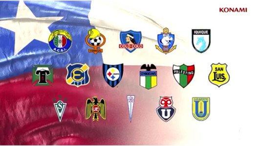 PES 2017: annunciata la presenza di 16 squadre cilene