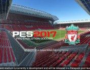 PES 2017: annunciato un accordo di partnership con il Liverpool