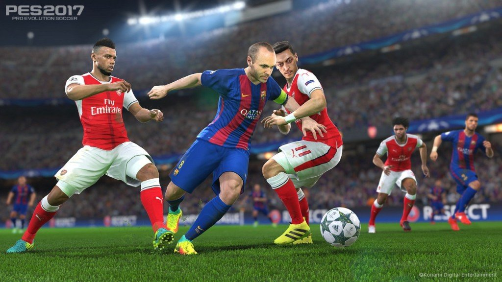 pes 2017 requisiti pc ps4 xbox one anteprima immagine barcellona 06