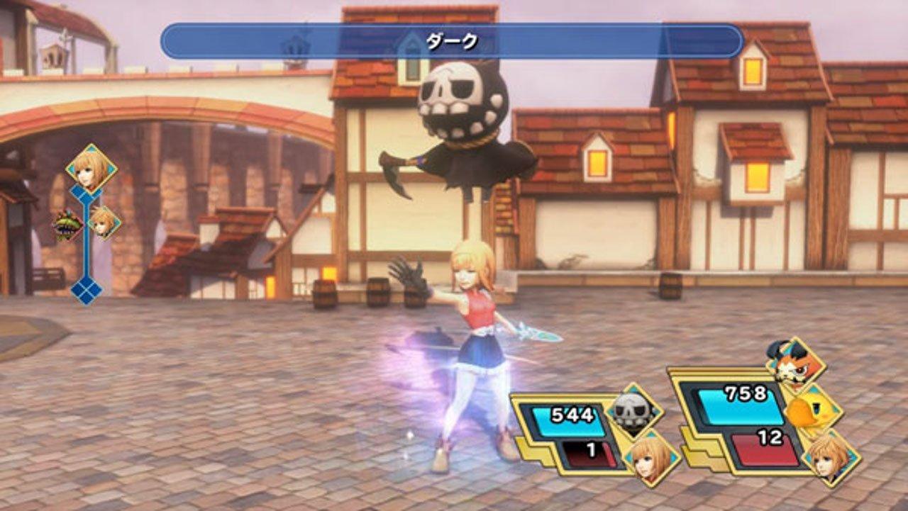 World of Final Fantasy: Minotaur, Sea Snake, e altri in azione
