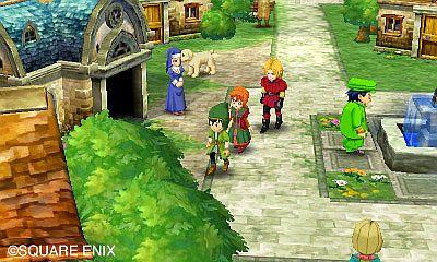 Dragon Quest VII Frammenti di un mondo dimenticato immagine 3DS 06