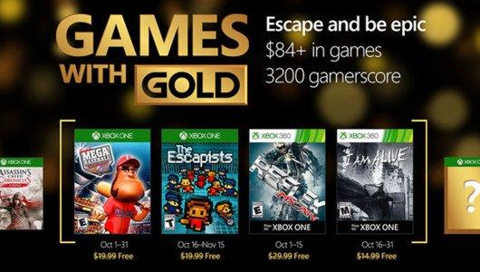 Games with Gold: The Escapists, Super Mega Baseball e altro