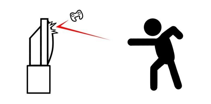 Innervosirsi in multiplayer rage quit