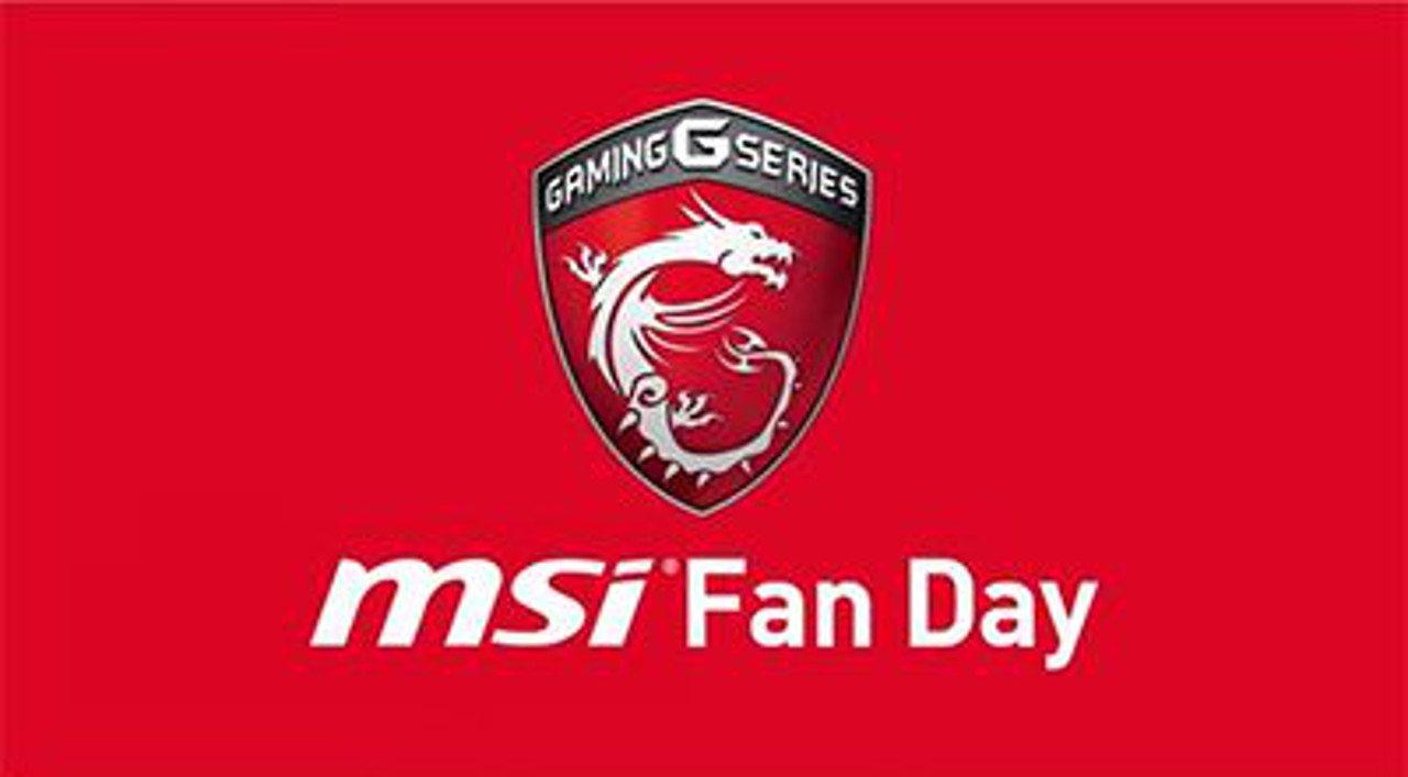MSI annuncia in Italia l'MSI Fan Day, un evento per i propri fan