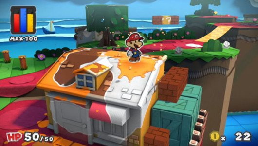 "Paper Mario Color Splash: pubblicato il trailer ""The Adventure Unfolds"""
