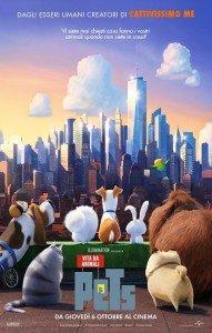 Pets – Vita da animali immagine Cinema locandina