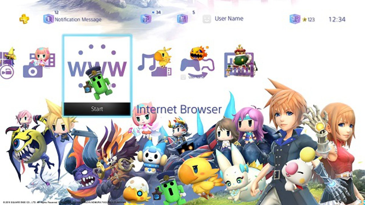 World of Final Fantasy: svelati i bonus di prenotazione del PS Store di PS4