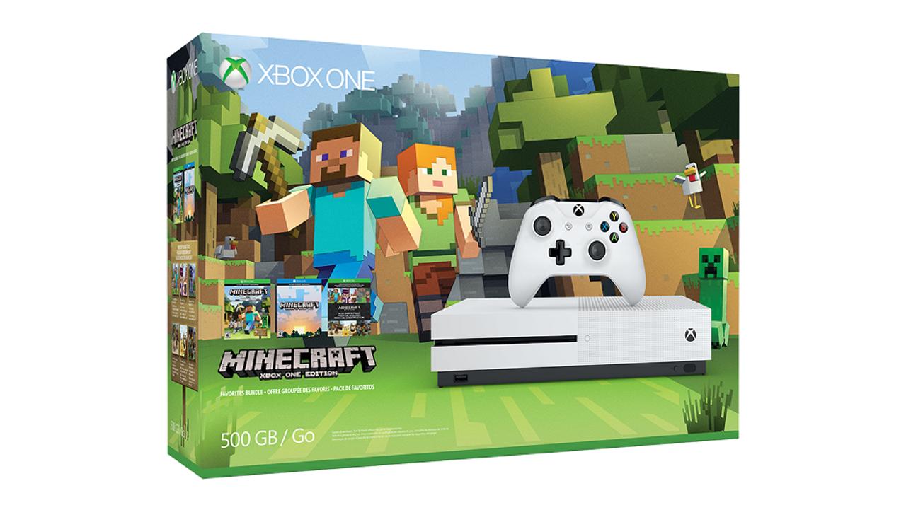 Microsoft annuncia il bundle Minecraft Favourites con Xbox One S