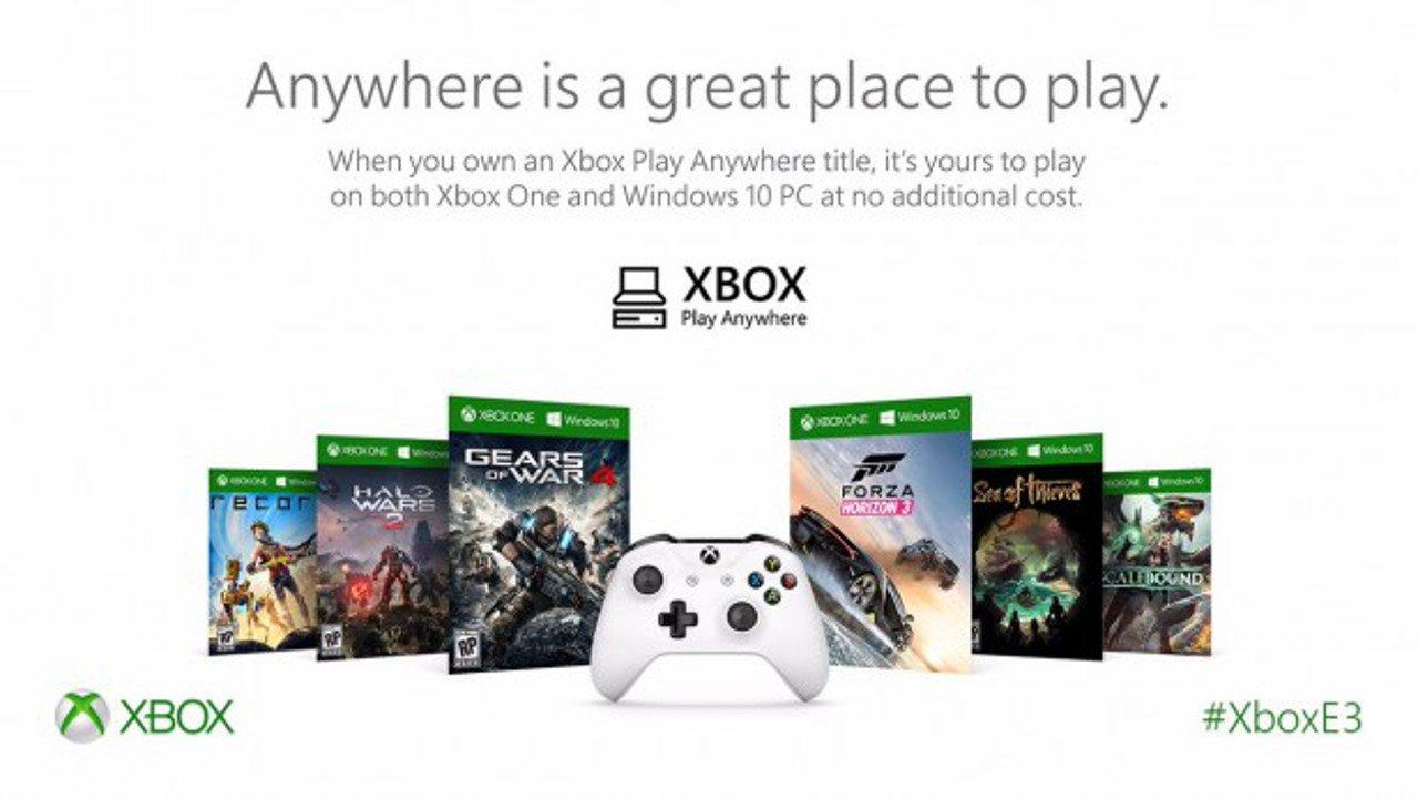 Microsoft fornisce nuovi dettagli sul programma Xbox Play Anywhere