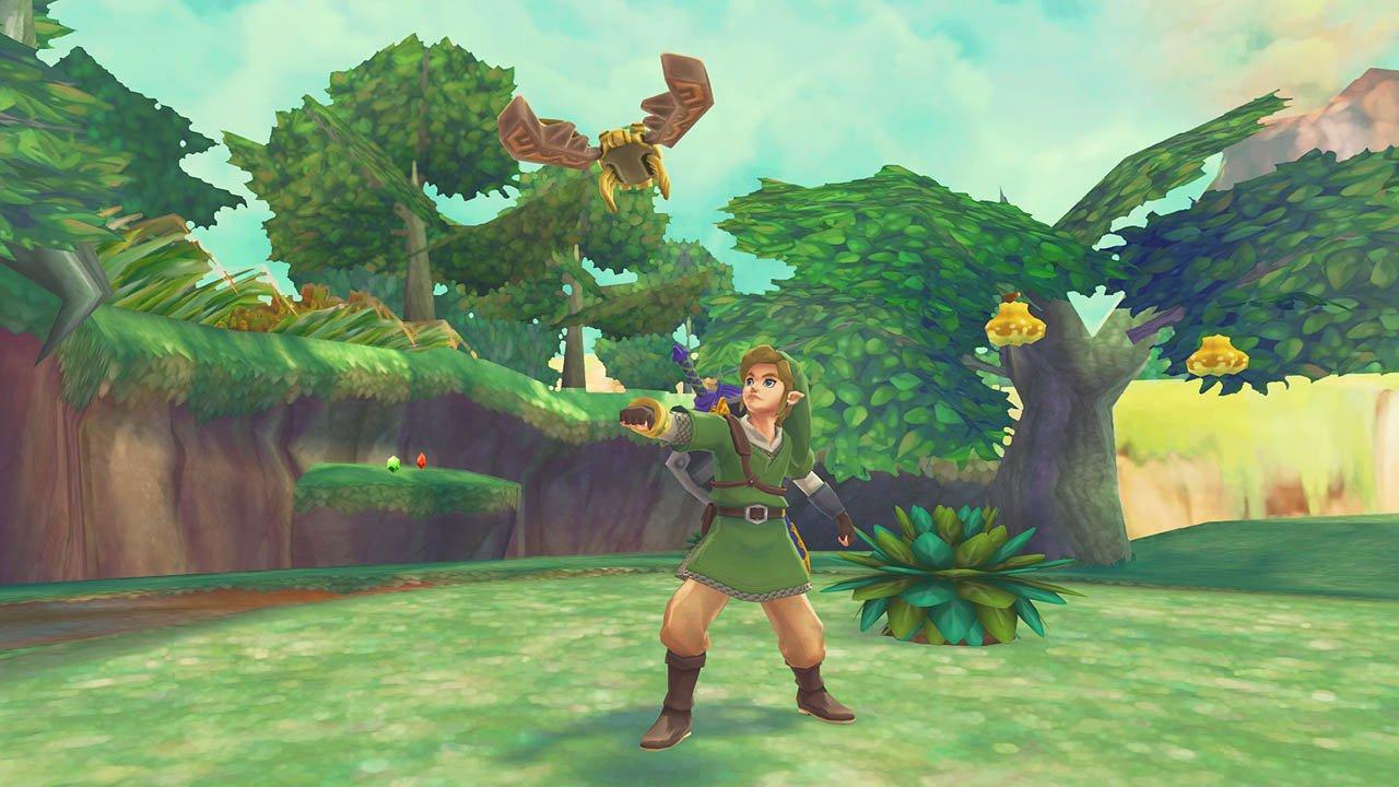 Zelda Skyward Sword arriva oggi su Wii U Virtual Console