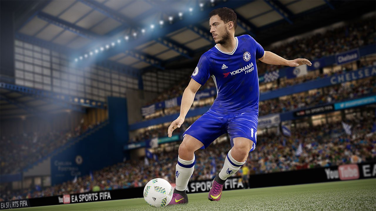 FIFA 17 in testa alle classifiche inglesi seguito da Final Fantasy XV