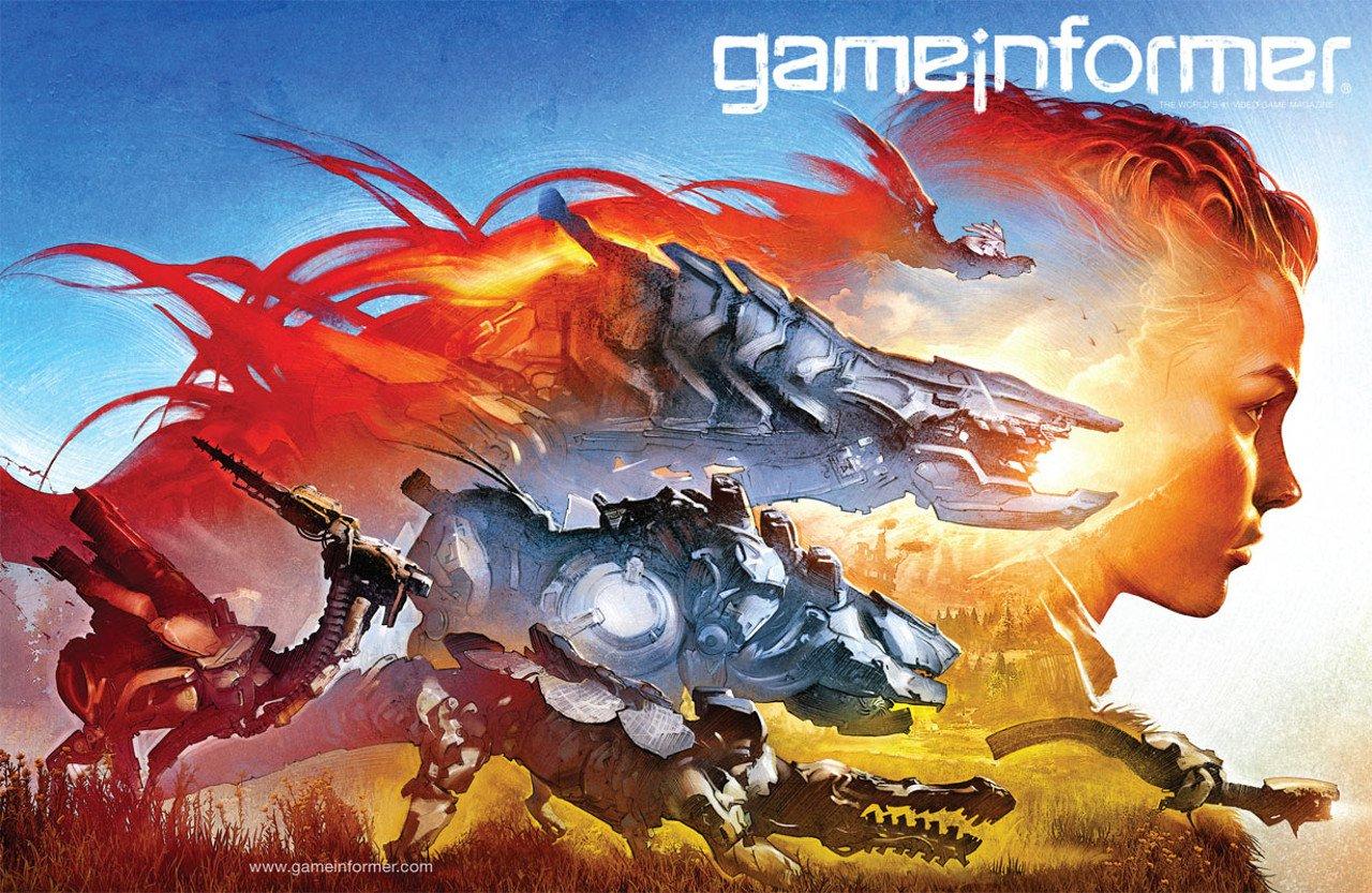 Horizon Zero Dawn sarà sulla cover del nuovo numero di Game Informer