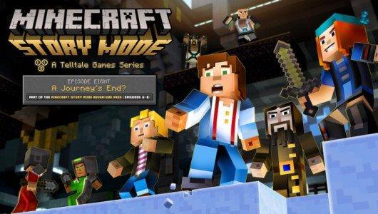 """Minecraft Story Mode: disponibile oggi l'episodio 8 """"A Journey's End?"""""""