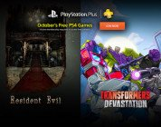 PlayStation Plus: Resident Evil e Transformers Devastation ad ottobre