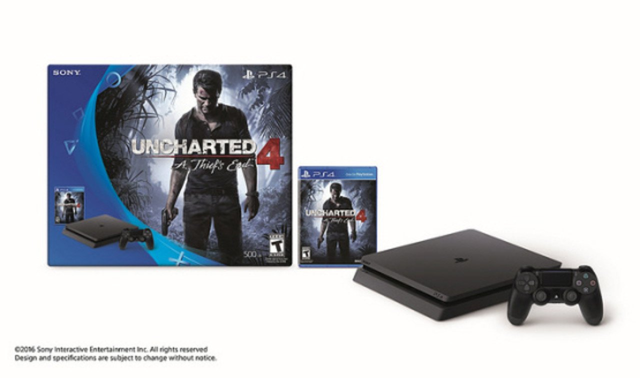 PS4 Slim: annunciati una dei bundle con Uncharted 4, Call of Duty e altri
