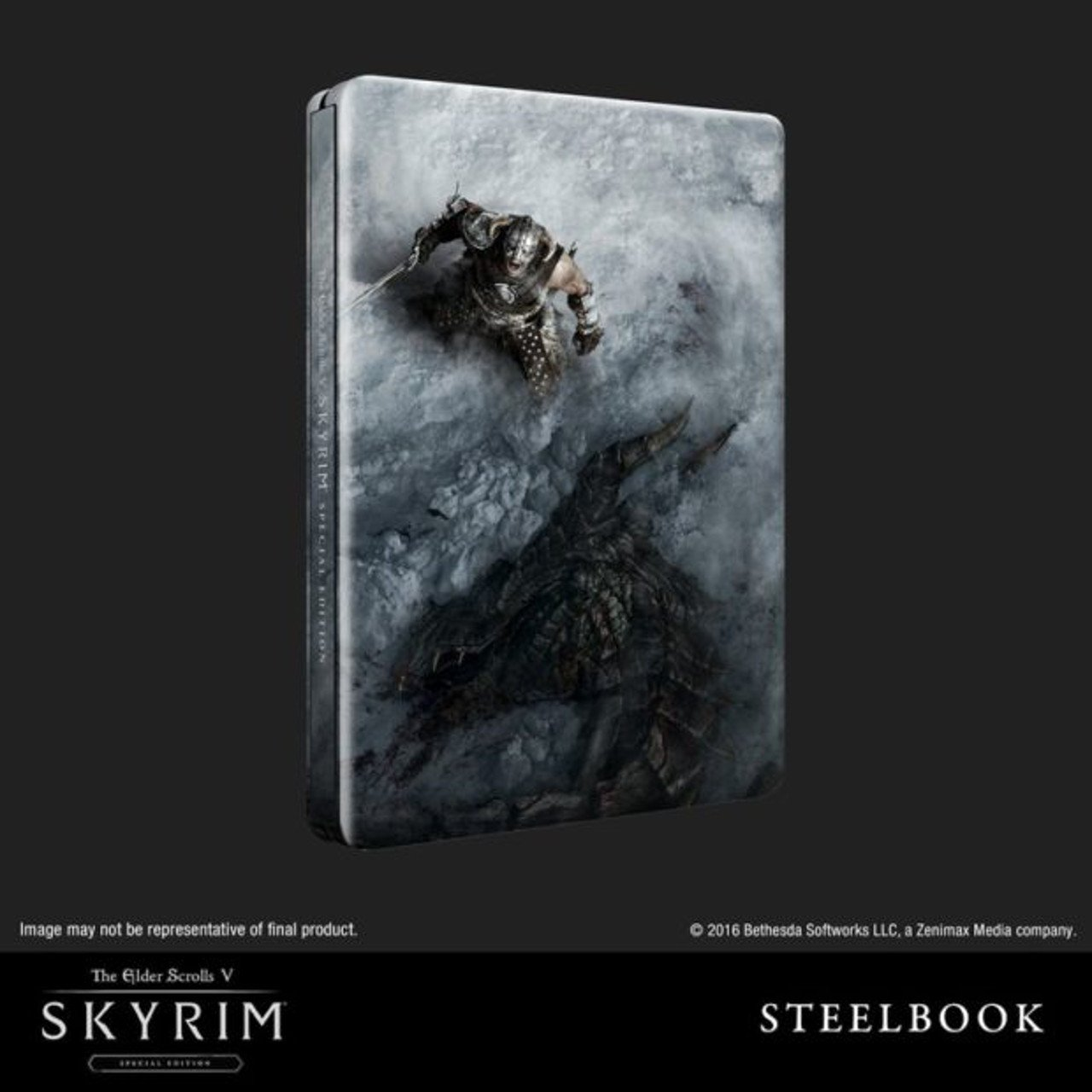 Bethesda annuncia una SteelBook Edition per Skyrim Remastered