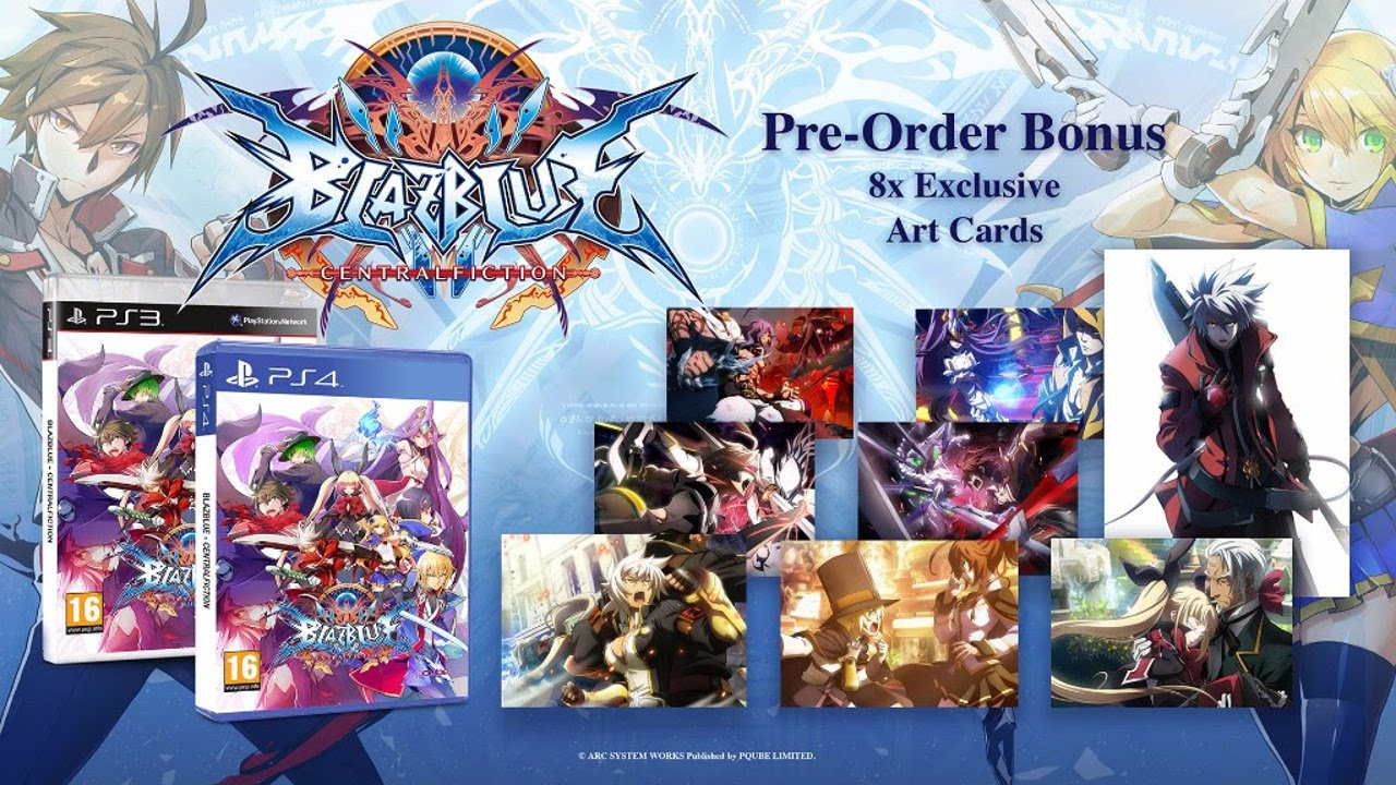 BlazBlue Central Fiction ha una data d'uscita per l'Europa