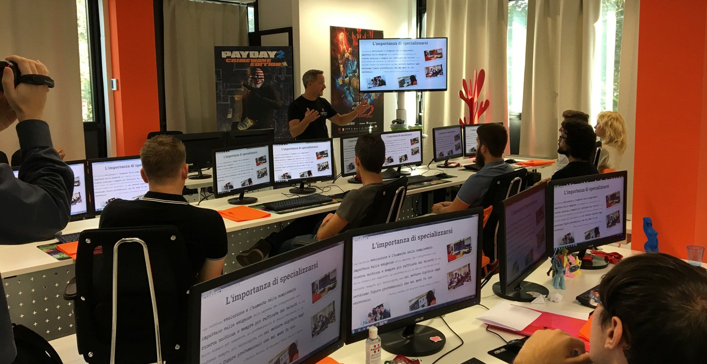 Digital Bros Game Academy annuncia l'ultima data per gli Open Day