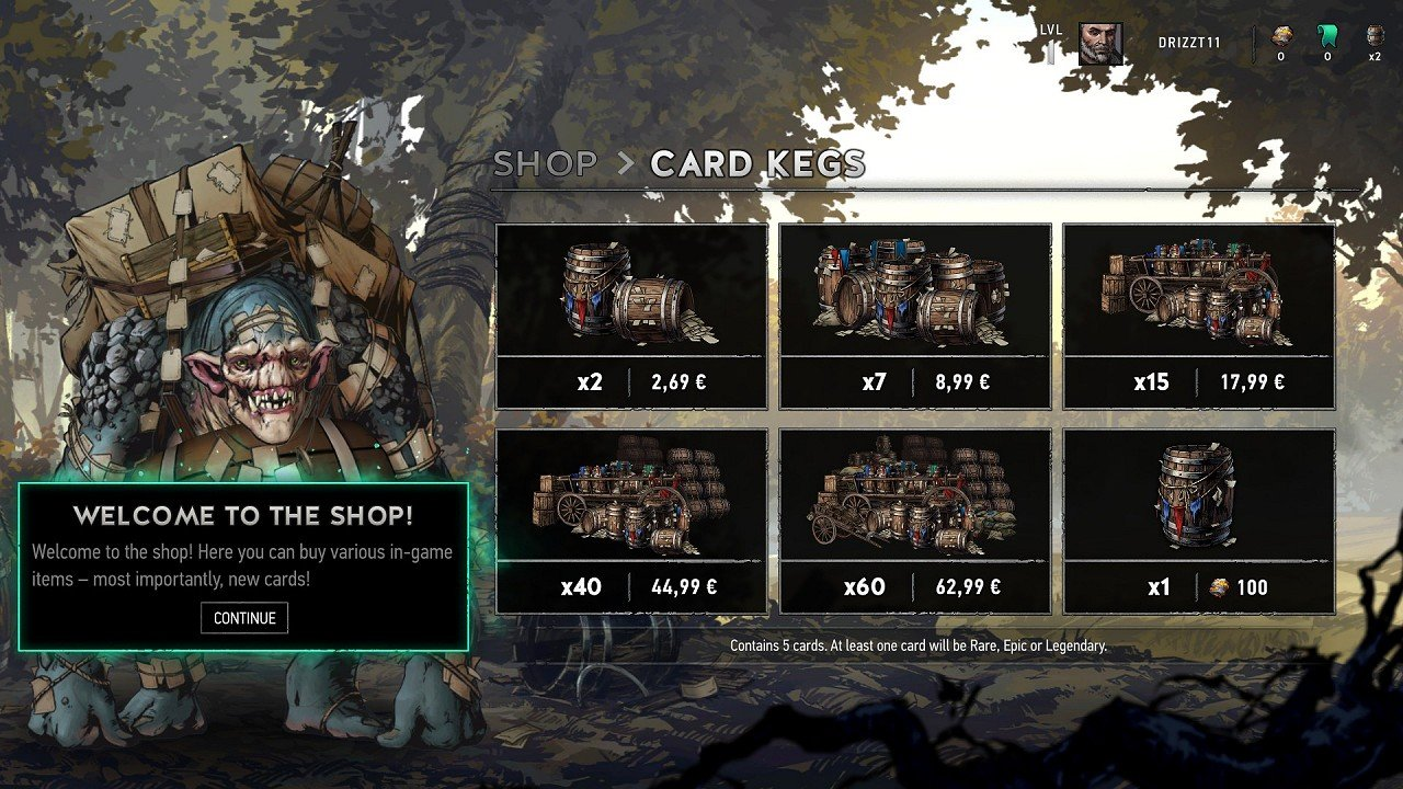 Gwent immagine PC PS4 Xbox One 03