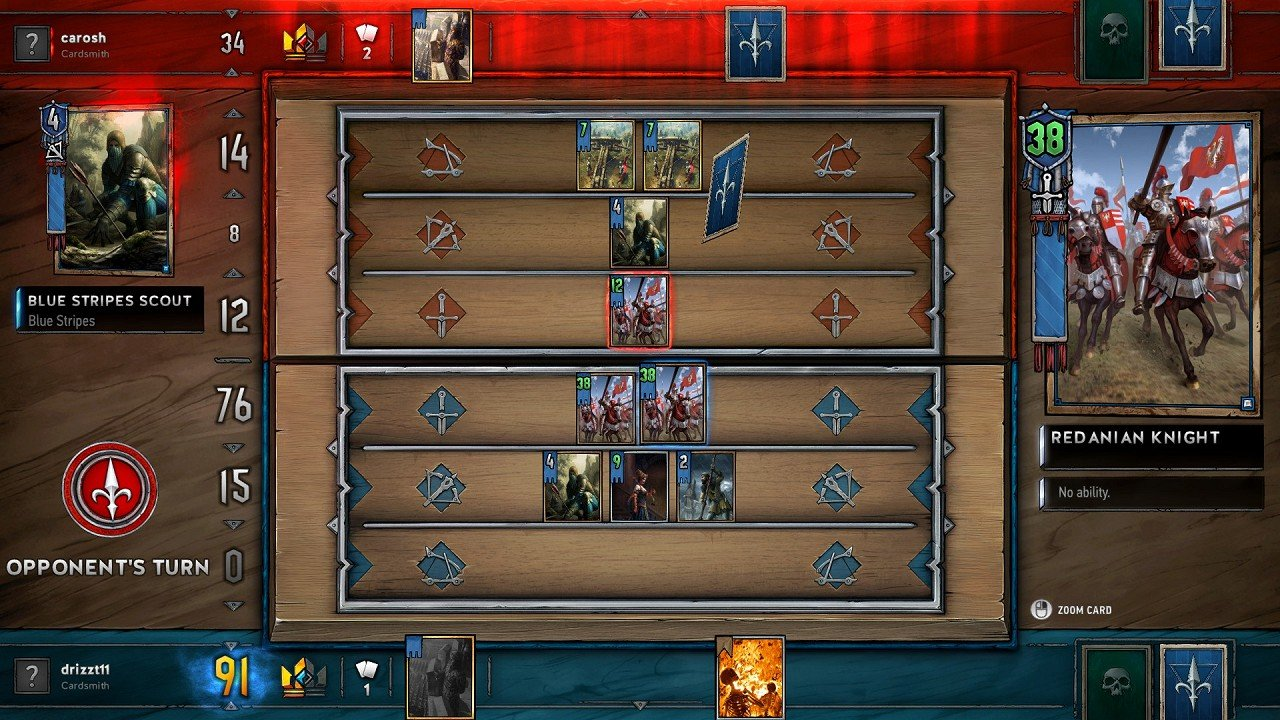 Gwent immagine PC PS4 Xbox One 08