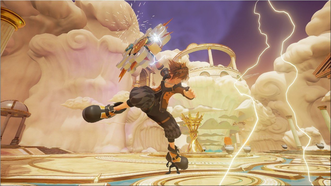 Kingdom Hearts III: due screen svelano la Guard Form e la Power Form