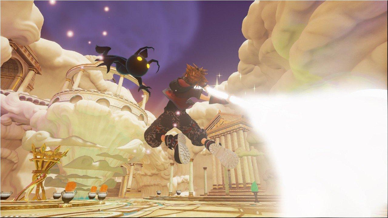 Kingdom Hearts III: due screen svelano la Guard Form e la Power Form