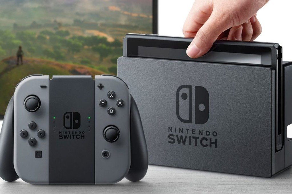 nintendo switch immagine hardware