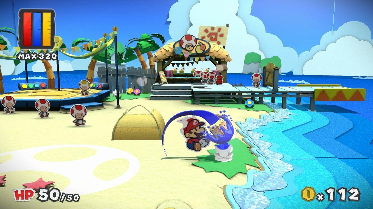Paper Mario Color Splash immagine Wii U 01