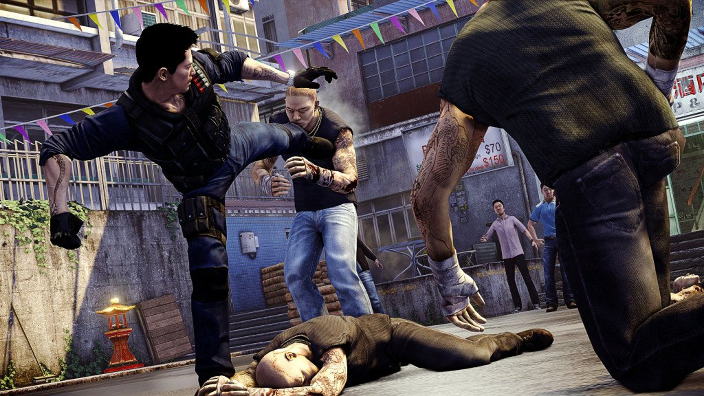 United Front Games Sleeping Dogs