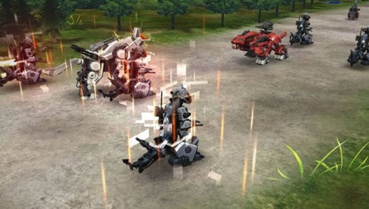 Zoids Field of Rebellion annunciato per dispositivi mobile