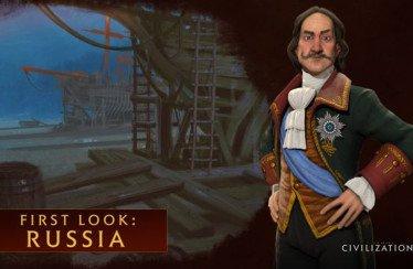 Civilization 6: Pietro il Grande sarà al comando della Russia