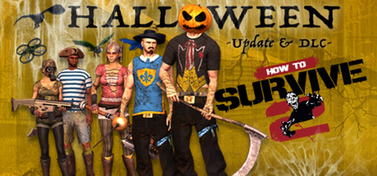How to Survive 2: disponibile un nuovo update e il DLC di Halloween
