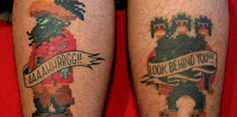 nerdo ergo sum tatuaggio videogiochi (1)