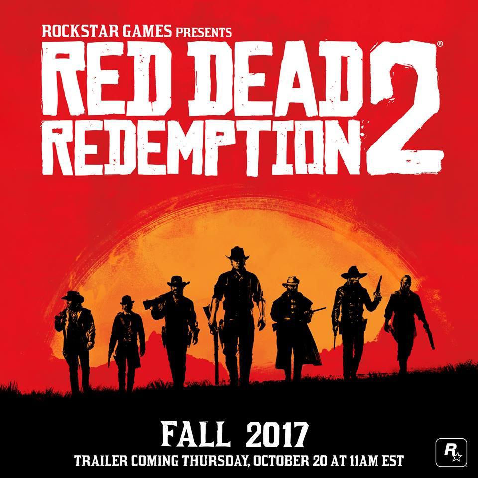 red dead redemption 2 annuncio ufficiale ps4 xbox one apertura