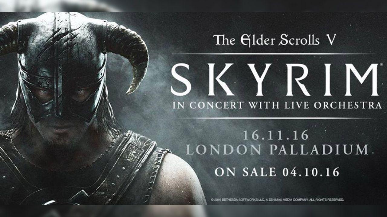 """Bethesda annuncia l'iniziativa """"Skyrim in Concerto"""""""