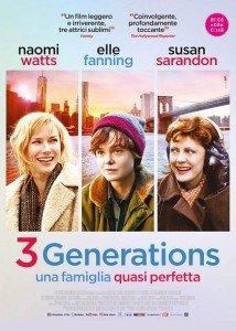 3 Generations – Una famiglia quasi perfetta immagine Cinema locandina