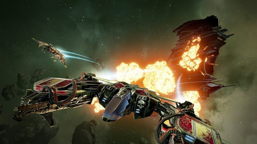 sumo digital ccp games newcastle Eve Valkyrie VR immagine PS4 03