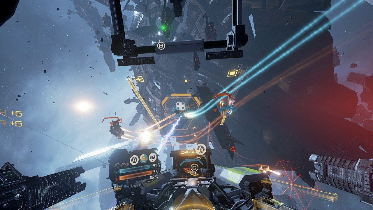 Eve Valkyrie VR immagine PS4 11