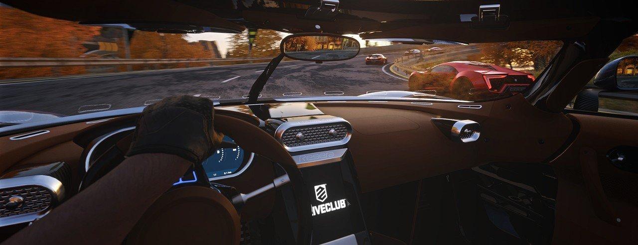 PlayStation VR – I titoli di lancio immagine PS4 Driveclub