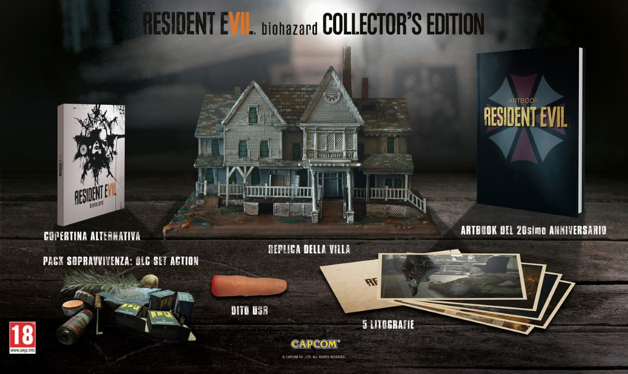 Capcom conferma la Collector's Edition di Resident Evil 7 in Europa