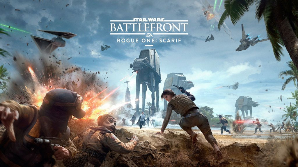 Rogue One Scarif data uscita Star Wars Battlefront