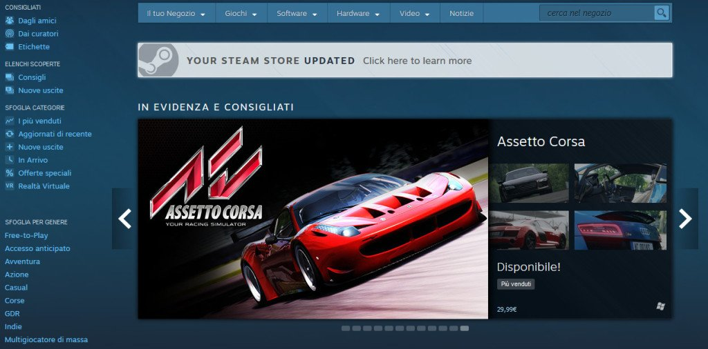 Steam Discovery 2.0