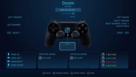 Steam Dualshock 4 beta