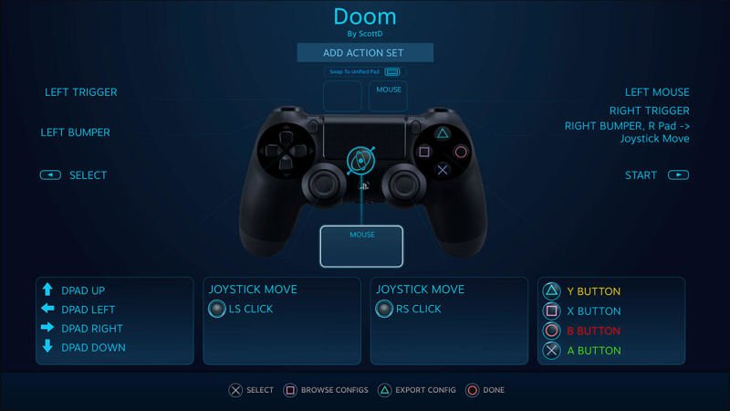 Steam Dualshock 4 beta